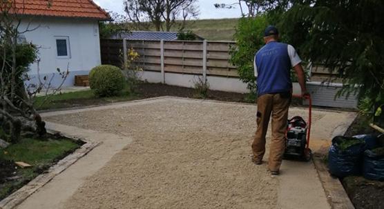 Création de parking - création de jardin