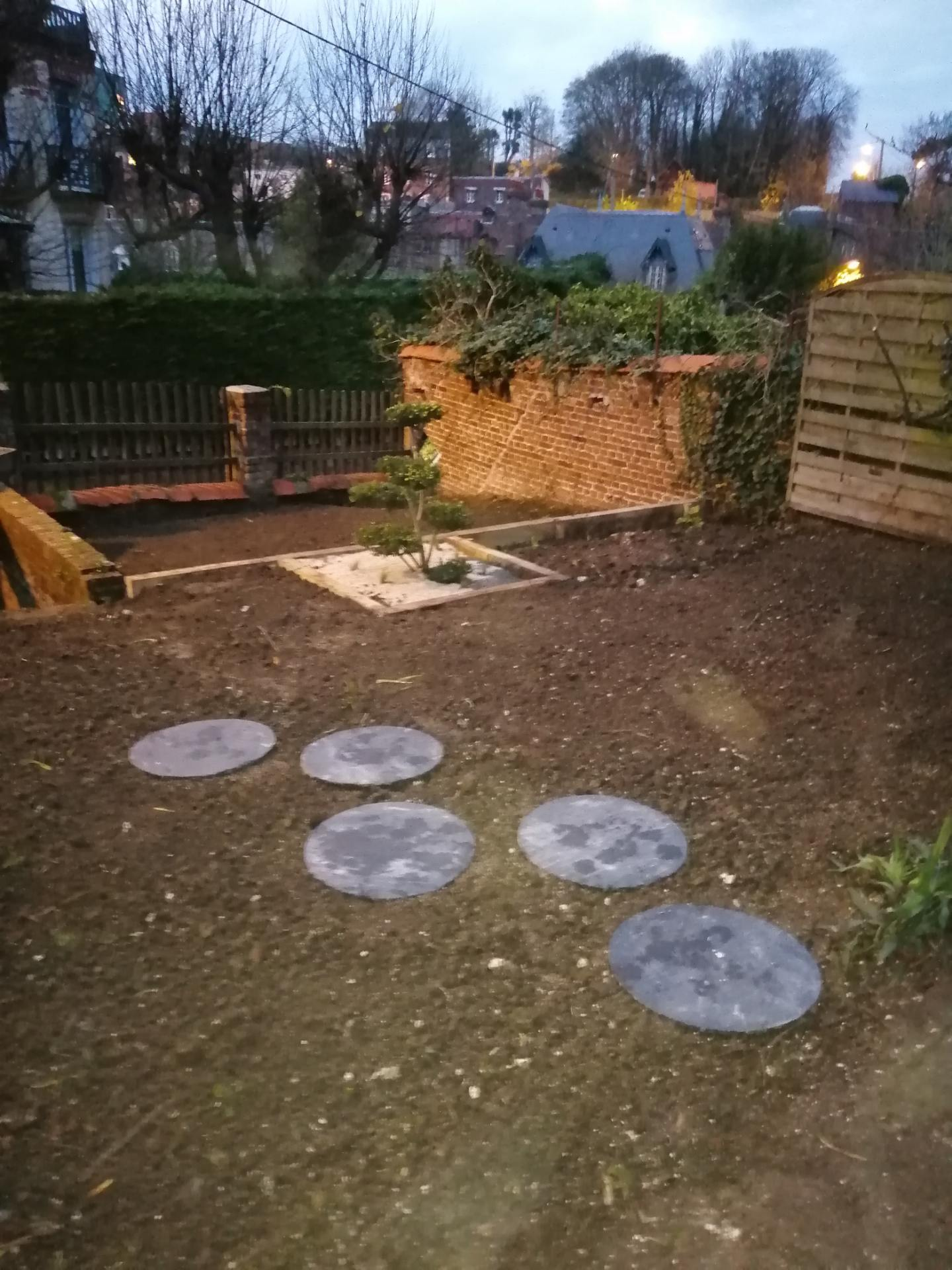 aménagement de jardin extérieur