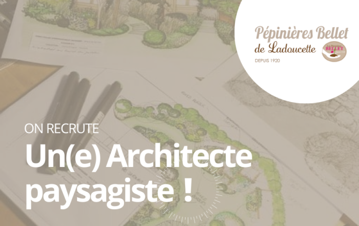 Emploi : Architecte paysagiste